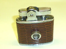 Move AUTOMATIC LIGHTER W. leather coat & érotique de Viewer - 1950-MADE IN JAPAN