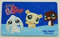 Walmart Gift Card - Littlest Pet Shop - Older - No Value - I Combine Shipping