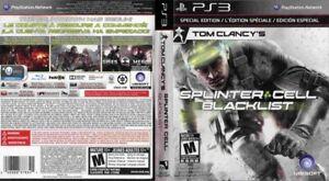 Tom Clancy's Splinter Cell: Blacklist PS3 Special Edition Brand New Sealed