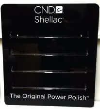 CND Shellac Empty Acrylic Wall Display Station Rack + Color Chart