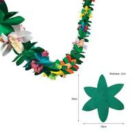 Garland Tropical Hawaiian Luau DIY Party Decor Flowers Tissue Paper Flower 3M