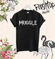 Muggle T Shirt Harry Potter Lord Voldemort Hermione Expecto Patronum Its Leviosa