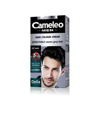 Cameleo Men Hair Color Cream-Effectively covers grey hair.Permanent-Ammonia Free