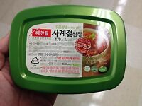 Korean Seasoned Soy Bean Paste, HAECHANDLE Four Season SSAMJANG 170g