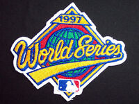 Official MLB 1997 WORLD SERIES Jersey Patch - Indians vs. Marlins - NEW/MINT