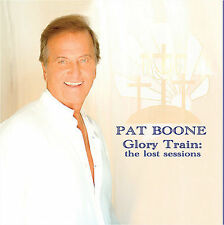 """PAT BOONE, CD & DVD SET """"GLORY TRAIN: THE LOST SESSIONS"""