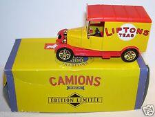 Altaya Corgi Van Model T Ford Van Liptons Tea 1/43 in Box