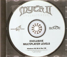 Myth II 2 Soulblighter Exclusive Multiplayer Levels PC IBM Mac Apple