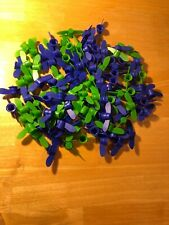 Lot of 110 Clean Used Plastic Lids Tops Go Go Squeez Arts Crafts