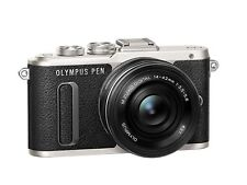"Olympus Pen e-pl8 Digital System Camera 16mp with 14-42mm Lens 3"" - Black"
