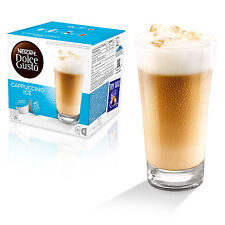 Dolce Gusto Cappuccino Ice Coffee (3 Boxes,Total 48 Capsules ) 24 Servings