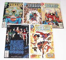 Justice League Adventures #1,2,3,4,5 - High Grade NM - 2002 Animated DC Comic