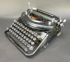 Vintage 1935 Remington Noiseless Portable Typewriter