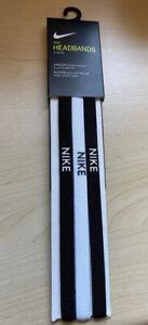 NEW 3 Pack Nike Headband Hairband Sports Running Hair Grip Men women
