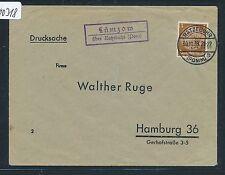 00318) Landpost Ra2 Lümzow über Ratzebuhr (Pom) DS 1938