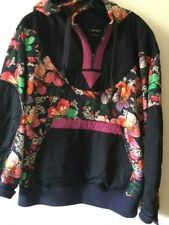 ISABEL MARANT Collection Sweatshirt Hoodie, Navy Floral, Size M
