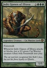 Jedit Ojanen of Efrava - LP - Planar Chaos MTG Magic Cards Green Rare