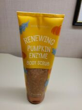 Bath and Body Works Renewing Pumpkin Enzyme Body Scrub 8 oz. Rare! Pumice