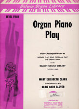 Belwin Organ Piano Play Level Four Book