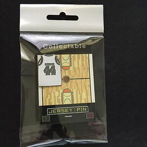 San Antonio Spurs George Gervin jersey lapel pin-Throwback Ice Man-Spurs Nation