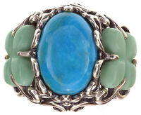 Carolyn Pollack Multi Gemstone Butterfly Sterling Silver Ring Size 8