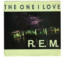 """R.E.M. The One I Love / Maps and Legends 45 RPM, 7"""", Both single & sleeve MINT!"""