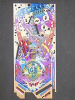 Stern Elvis Pinball Arcade Playfield NOS