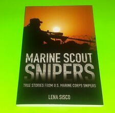 Marine Scout Snipers by Lena Sisco Paperback Book (English) FREE SHIPPING!