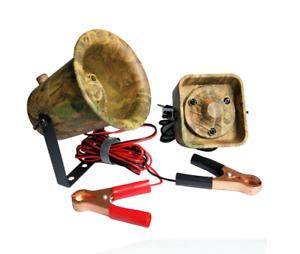 Hunting Bird Caller+External Speaker MP3 Whistle Duck Decoy Camouflage 50W