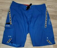 Pelagic Mens Hybrid Fishing Board Shorts Size 38 XL Blue