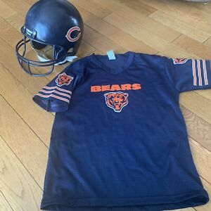 NFL Chicago Bears Football YOUTH SIZE M Helmet and Jersey Set Halloween Costume