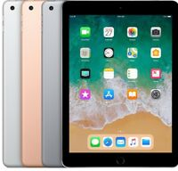 Apple iPad 6 (2018) |WIFI or LTE| 32GB 128GB Space Gray Silver Gold