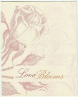 2008 STAMP PRESENTATION PACK 'LOVE BLOOMS' INC MINI SHEET 10 x 50c MNH STAMPS