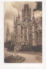 Rouen Saint Ouen & Statue de Rollon 1906 LL Postcard France 282a