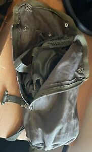 WW2 german gas mask Original  With German Paratroopers Bag (FJ)