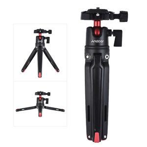 Andoer Mini Tripod Stand+Ball Head for iPhone Go Pro Nikon Canon DSLR Camera F0K