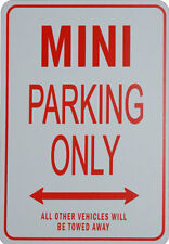 MINI - No Parking Sign