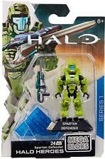 Mega Bloks Halo Heroes Series 1 Spartan Defender 24pc BRAND NEW UK DISPATCH