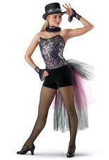 Confetti Sequin Dance Costume by Weissman Size XLC
