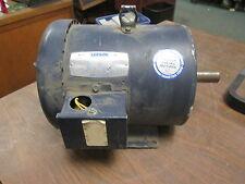 Leeson C182T17FB29D AC Motor G130008.00 3HP 1760RPM FR:HX182T ENCL:TEFC Used