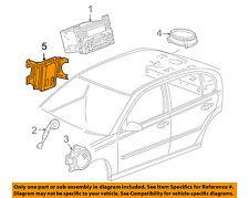Pontiac GM OEM 06-09 G6 Stereo Audio Radio-Amplifier 15881017
