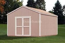 12 x 12 Feet Gable Storage Shed Plans, Buy It Now Get It Fast!
