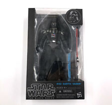 #02 Darth Vader The Black Series Hasbro Star Wars Rare Disney Action Figure