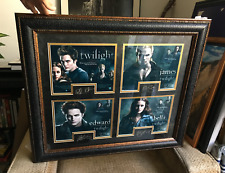 SIGNED! by all 4 Twilight actors!! Kristen Stewart Autograph FRAMED POSTER