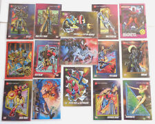 15 - Super Heroes Trading Cards Spider-Man Iron Man Blaze Cable 30 years 1992-95