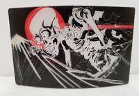 Death Gothic Belt Buckle Vintage Fashion Designer Belts Buckles          262/12