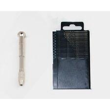 Hand Drill set Four Head clip Modeler's tool with 20pcsHSS Micro Twist Drill Bit