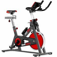 FITFIU BESP-22 - Bicicleta Indoor Spinning ergonómica con disco (24 kg)