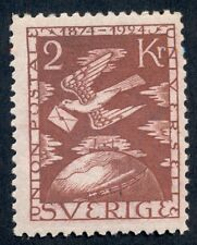 Sweden #226 (224) 2kr Upu, og, Nh, fresh and Vf