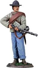 BRITAINS CIVIL WAR CONFEDERATE 31214 INFANTRY STANDING MAKING READY #1 MIB